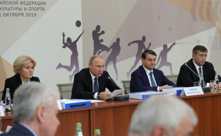 Путин поддержал идею строительства модульных спортзалов в сельской местности