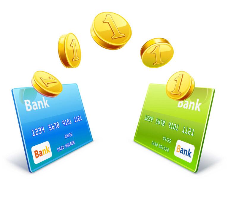 Мгновенный перевод денег между счетами разных банков