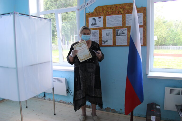 Людмила Абрамова: «С поправками, вносимыми в Конституцию,  я согласна и одобряю их полностью»