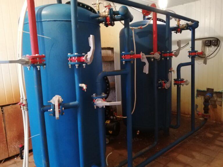 В Новодугино заработала обновленная станция водоочистки